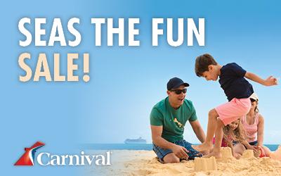 Carnival Cruises - Seas The Fun Sale