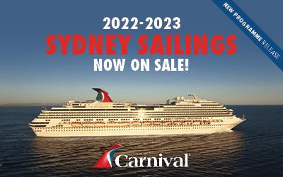 Carnival Cruises - Splendor in Sydney 2022/23