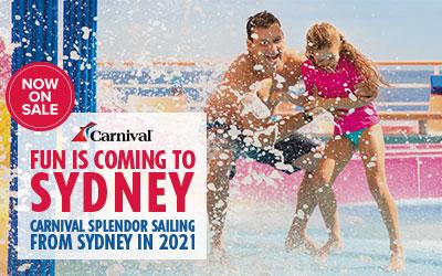 Carnival - Sydney on Splendor 2021
