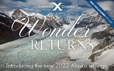 Celebrity Cruises - Alaska 2022