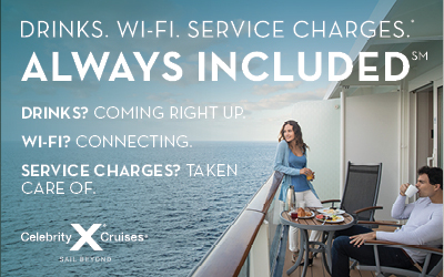Celebrity Cruises - Always Included Offer
