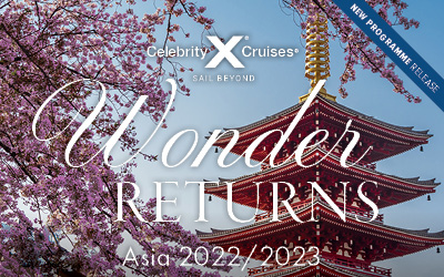 Celebrity Cruises - NEW Asia 2022-2023