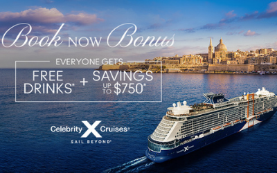 Celebrity Cruises - Book Now Bonus