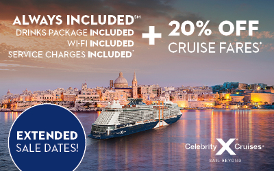 Celebrity Cruises - UP TO 20% OFF
