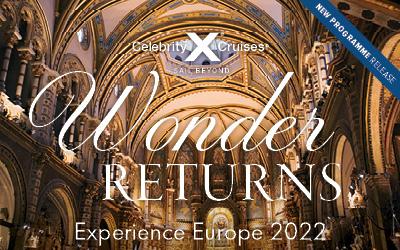 Celebrity Cruises - NEW Europe 2022