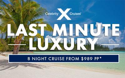 Celebrity Last Minute Luxury
