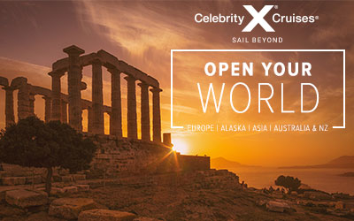 Celebrity Cruises - Open your World