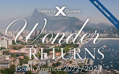 Celebrity Cruises - NEW South America 22/23