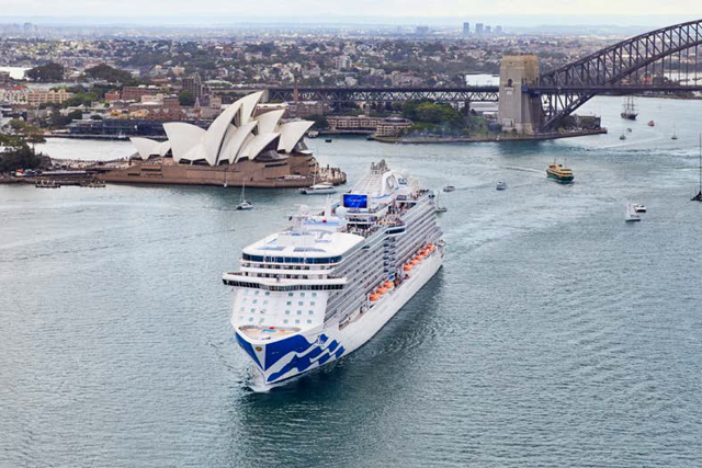 Coral Princess World Cruise from Sydney - BONUS VALUE UP TO $2,700*