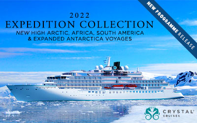 Crystal Cruises - 2022 Expedition