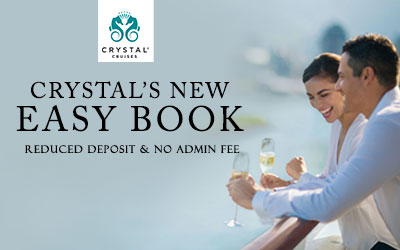 Crystal Cruises - Easy Book Offer