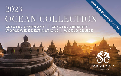 Crystal Cruises - Ocean Collection 2023