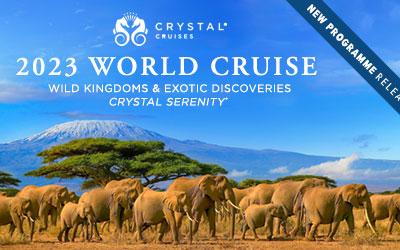 Crystal Cruises - World Cruise 2023