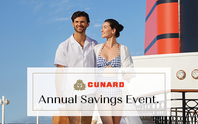 Cunard - Annual Savings Event Sale