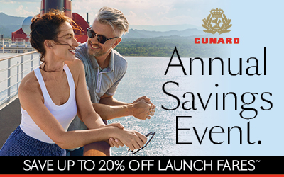 Cunard - Annual Saving Event