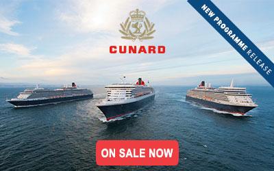 Cunard - April 2021 to January 2022
