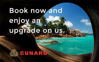 Cunard Double Upgrade Offer