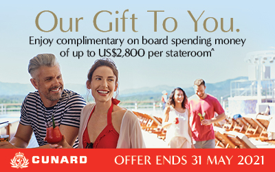 Cunard - Our Gift To You Sale