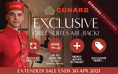 Cunard - Grill Suite Exclusives