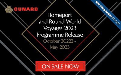 Cunard - Homeport & World Voyages 2022-23