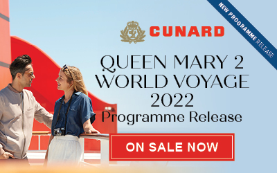 Cunard - Queen Mary 2: World Voyage 2022
