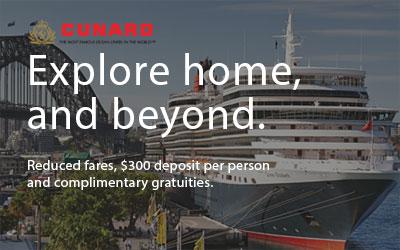 Cunard Wave Offer