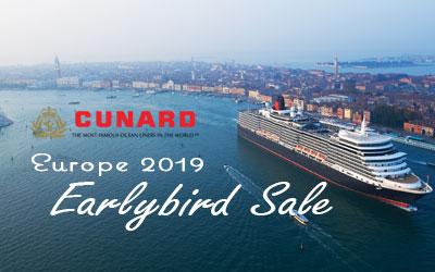 Europe 2019 Earlybird Sale