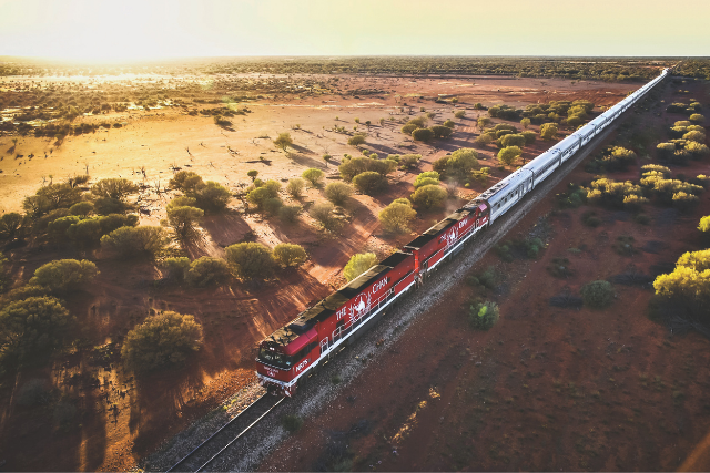 EXCLUSIVE RAIL JOURNEY: The Ghan