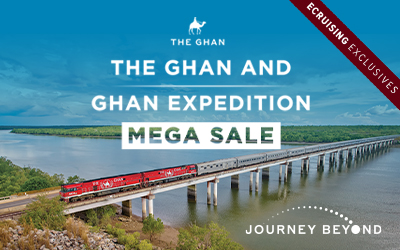 Journey Beyond - Savings on 2020 Ghan Journeys!