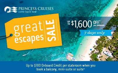 Great Escapes Sale