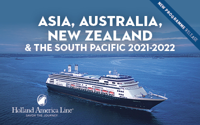 Holland America - Asia, Aus, NZ & South Pacific 21-22