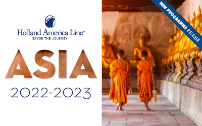 Holland America - Asia Sailings 2022-2023