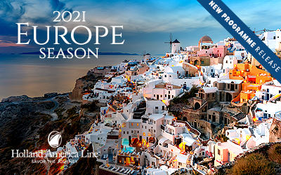 Holland America - Europe 2021 Release