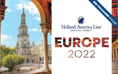 Holland America - Europe 2022 Release