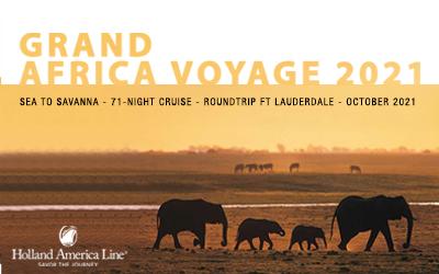 Holland America - Grand Africa Voyage 2021