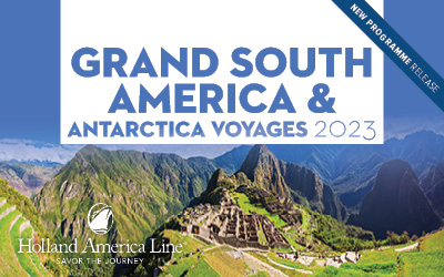 HAL - Grand Voyage South America & Antarctica 2023