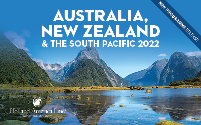 Holland America - Aus, NZ & South Pacific 2022