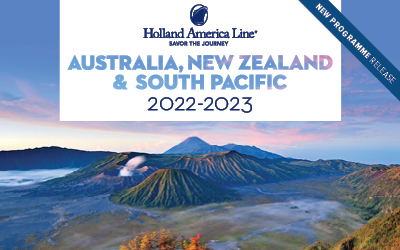 Holland America - Aus, NZ & South Pacific 2022/23