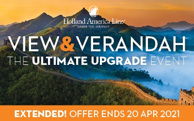 Holland America - View & Verandah Sale