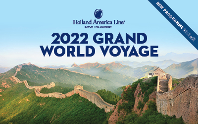 Holland America - Grand World Voyage 2022