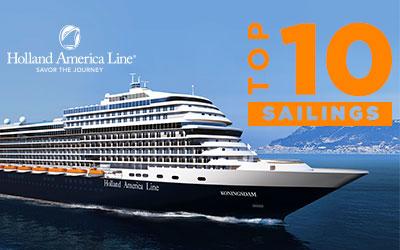 Holland America Top 10 Sailings