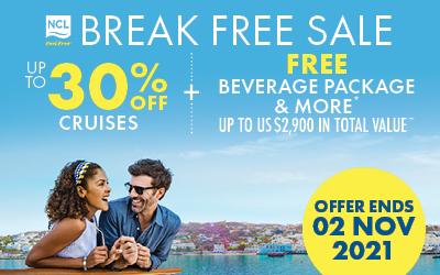NCL - Break Free Sale