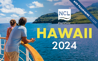 Norwegian Cruise Line - NEW Hawaii 2024