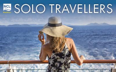 Norwegian Cruise Line - Solo Travellers