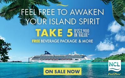 Norwegian Cruise Line - NEW Spirit 2022