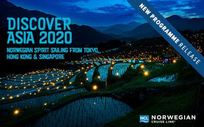 NCL - Spirit Asia 2020
