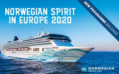 Norwegian Cruise Line - NEW Spirit in Europe