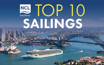 Norwegian Cruise Line - Top 10 Sailings