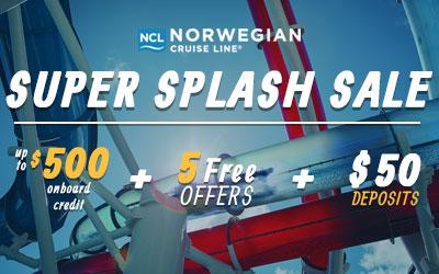 Norwegian Super Splash Sale
