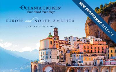 Oceania - Europe & North America 2021